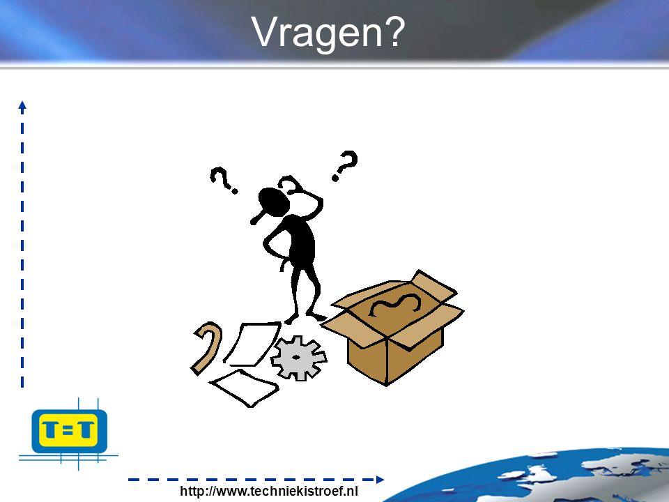 http://www.techniekistroef.nl Vragen?