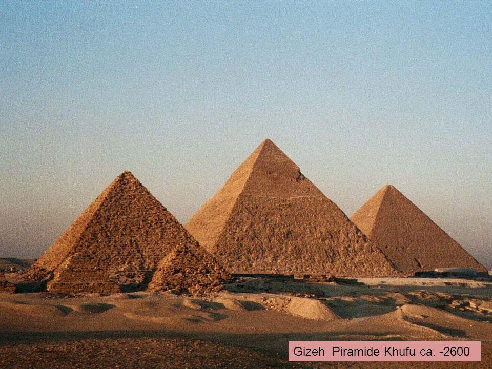 Gizeh Piramide Khufu ca. -2600