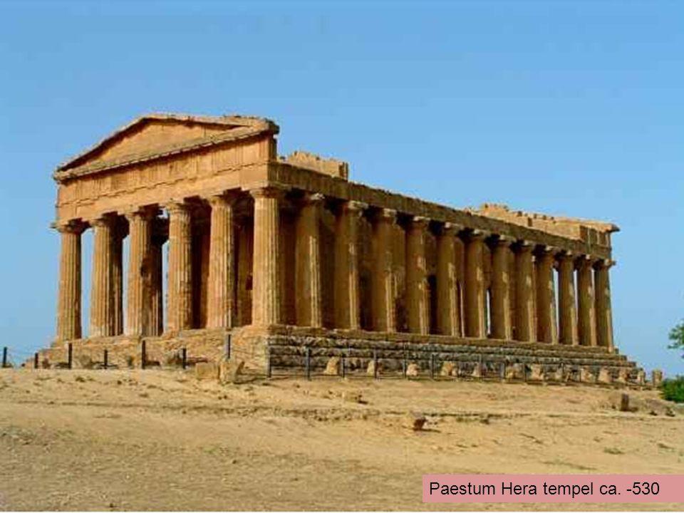 Paestum Hera tempel ca. -530