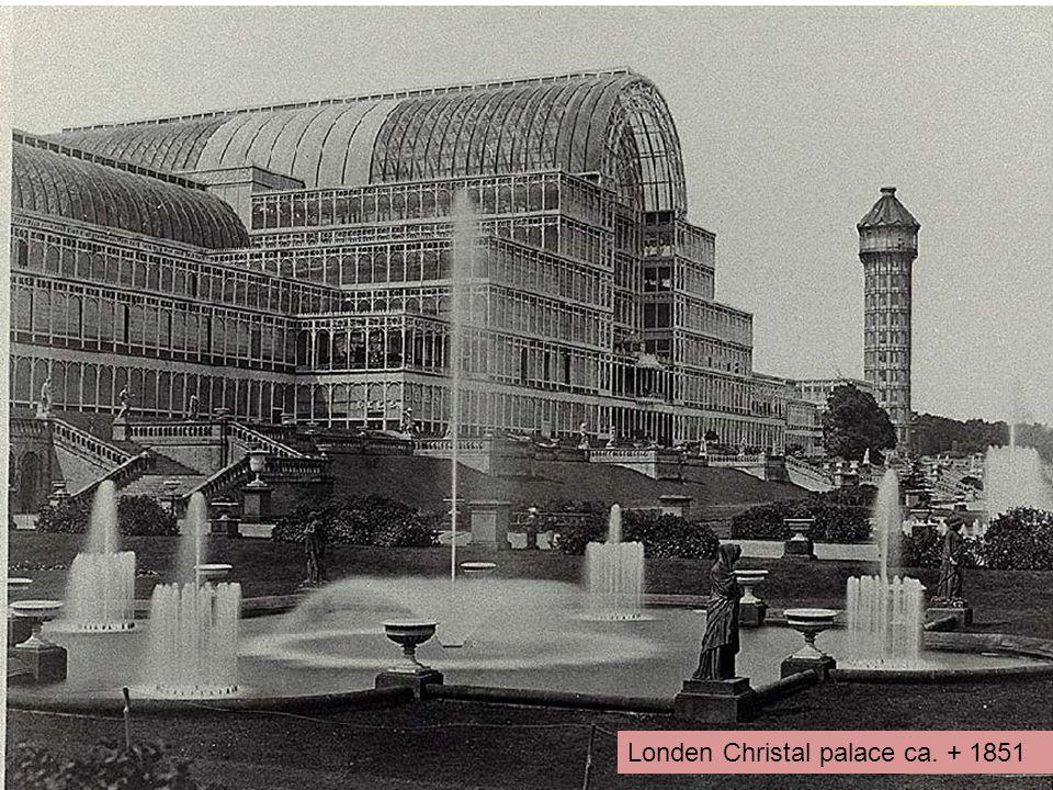 Londen Christal palace ca. + 1851
