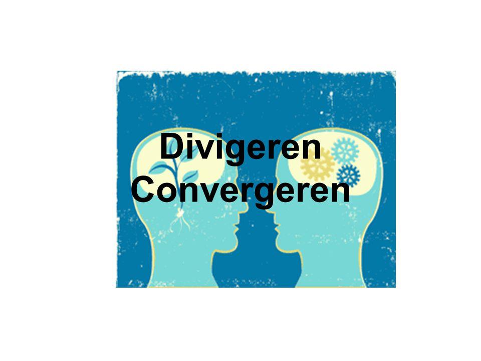 Gebruiksmogelijkheden Convergeren –Groeperen van ideeen –Verschillende ideeen vergelijken en daaruit kiezen –Alternatieven verneteren en verfijnen –Resultaten beoordelen en daarover beslissen –Aanpakken van omvangrijke thema in deelthema