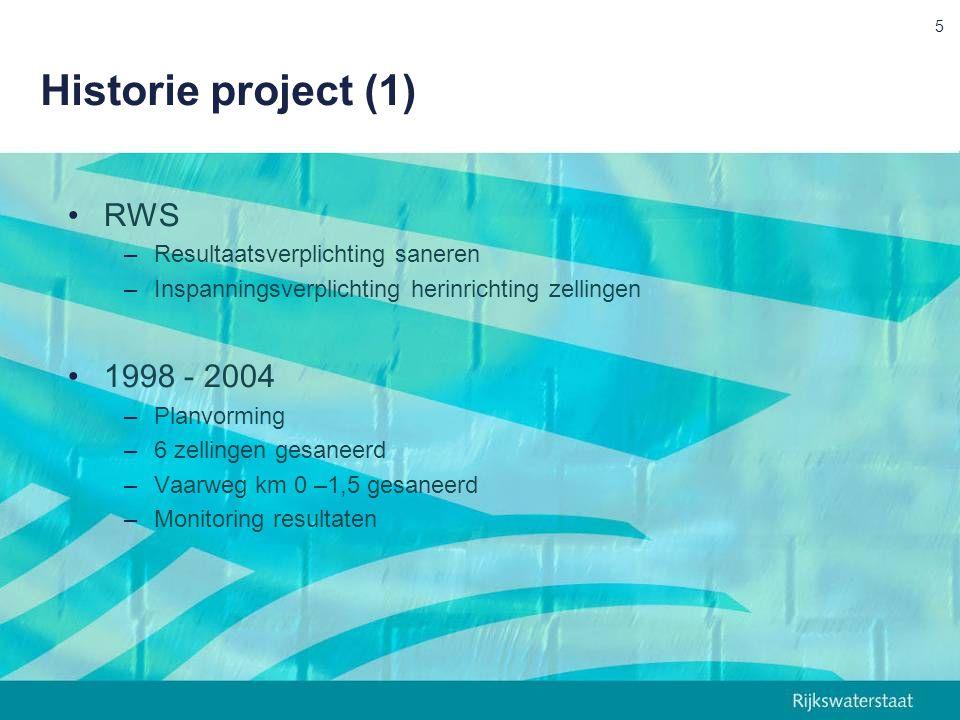 Techniek: herinrichting Herinrichtingsplaatjes uit 1998 ØVerzet vanuit omgeving tegen inrichting ØDaardoor loskoppeling sanering en herinrichting Herinrichtingsplaatjes actualisatie 2007 ØSobere herinrichting Ø No regret uitvoering ØLeidend voor saneringsoplossing 16