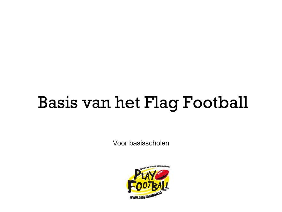Basis van het Flag Football Voor basisscholen