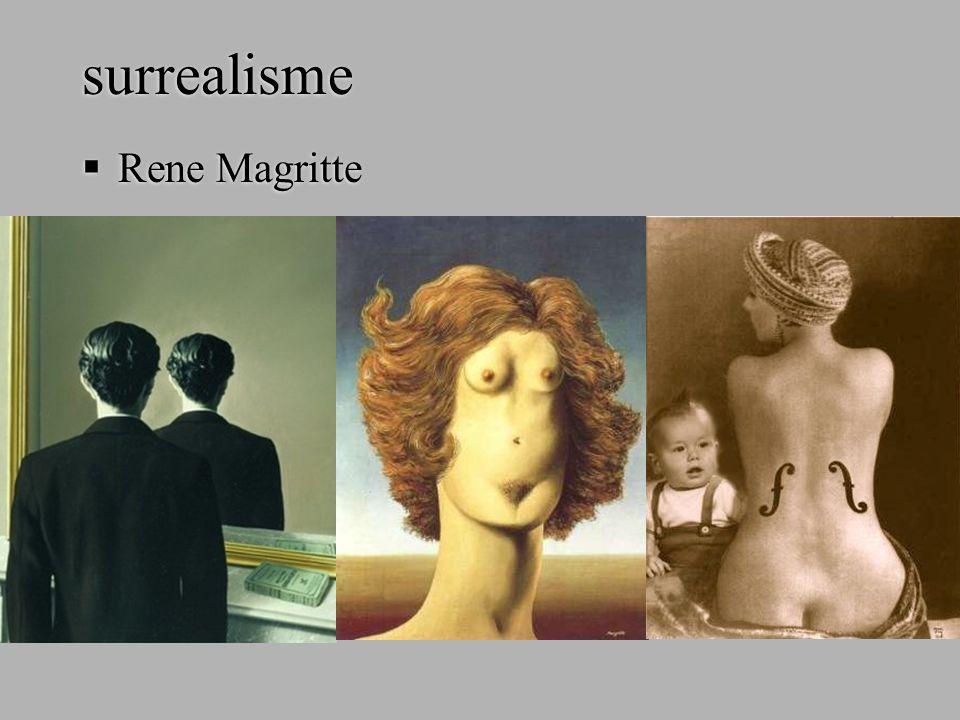surrealisme  Rene Magritte