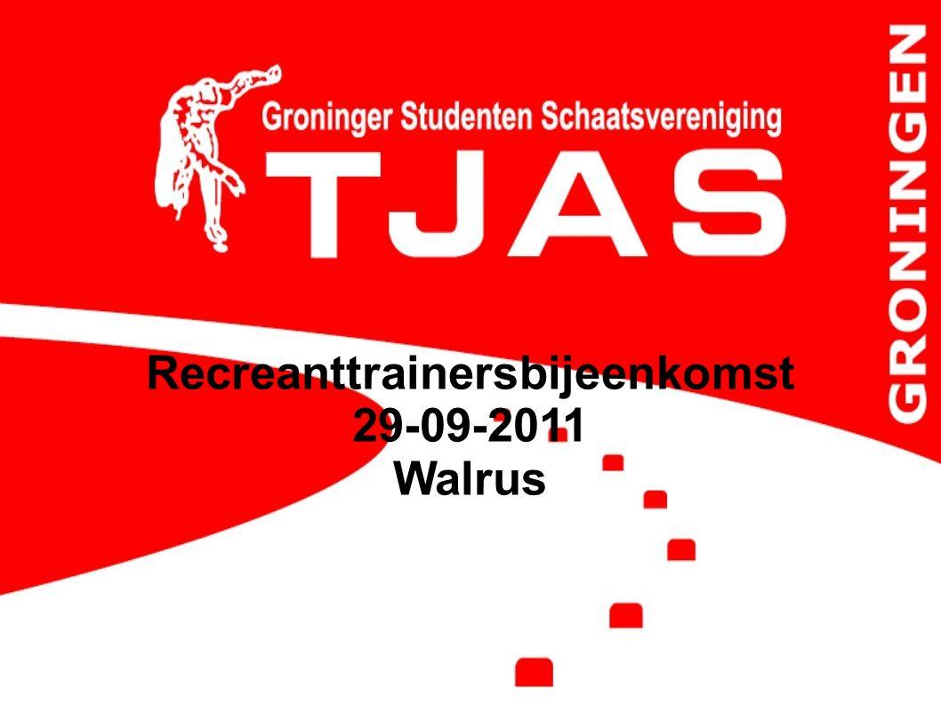 Recreanttrainersbijeenkomst 29-09-2011 Walrus