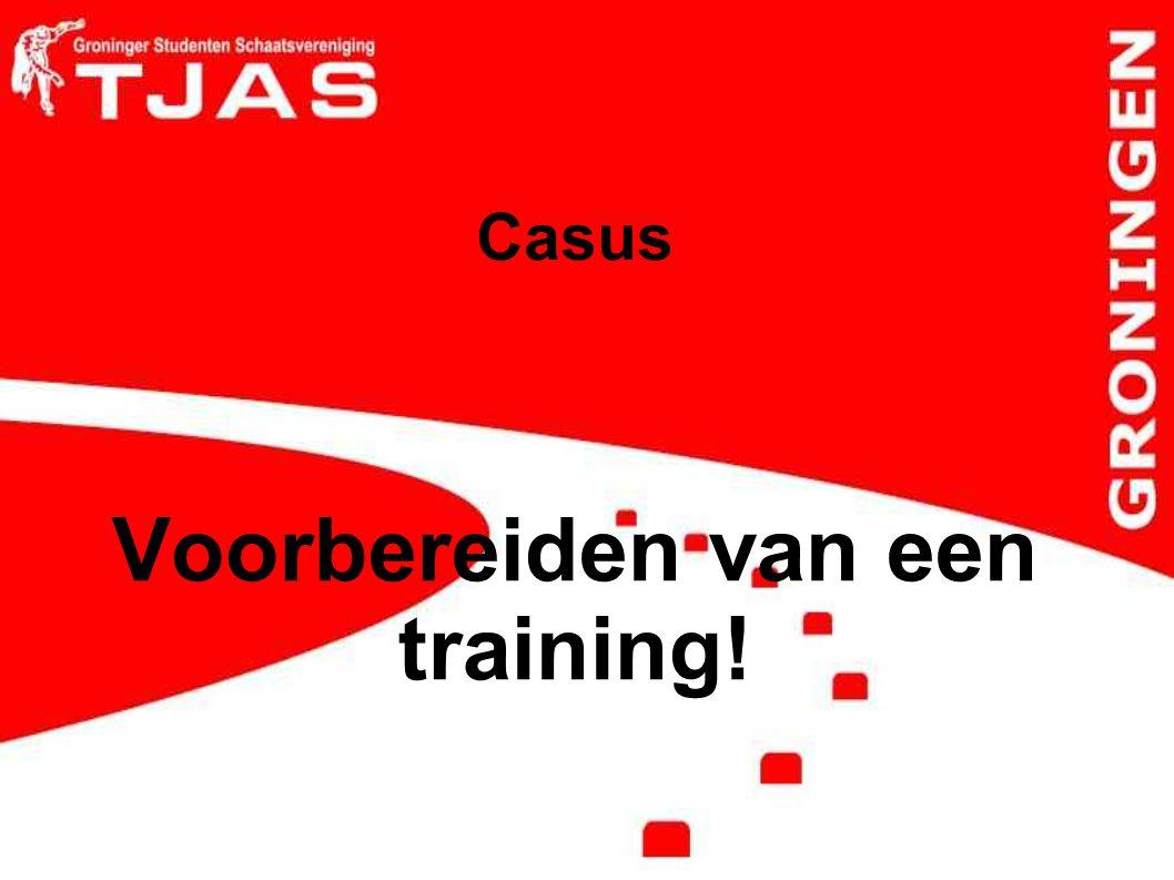 Casus Voorbereiden van een training!