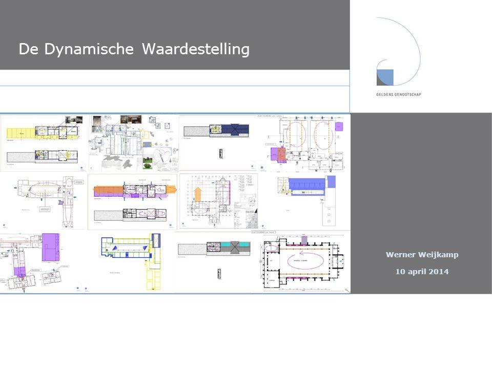 De Dynamische Waardestelling Presentatie 10 april 2014 Verbeelding, toepassing en toekomst