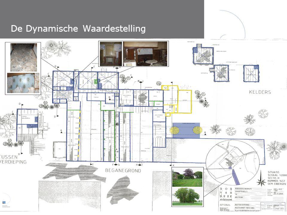 De Dynamische Waardestelling Lunchlezing Atelier Rijksbouwmeester – 18 september 2013 Verbeelding, toepassing en toekomst