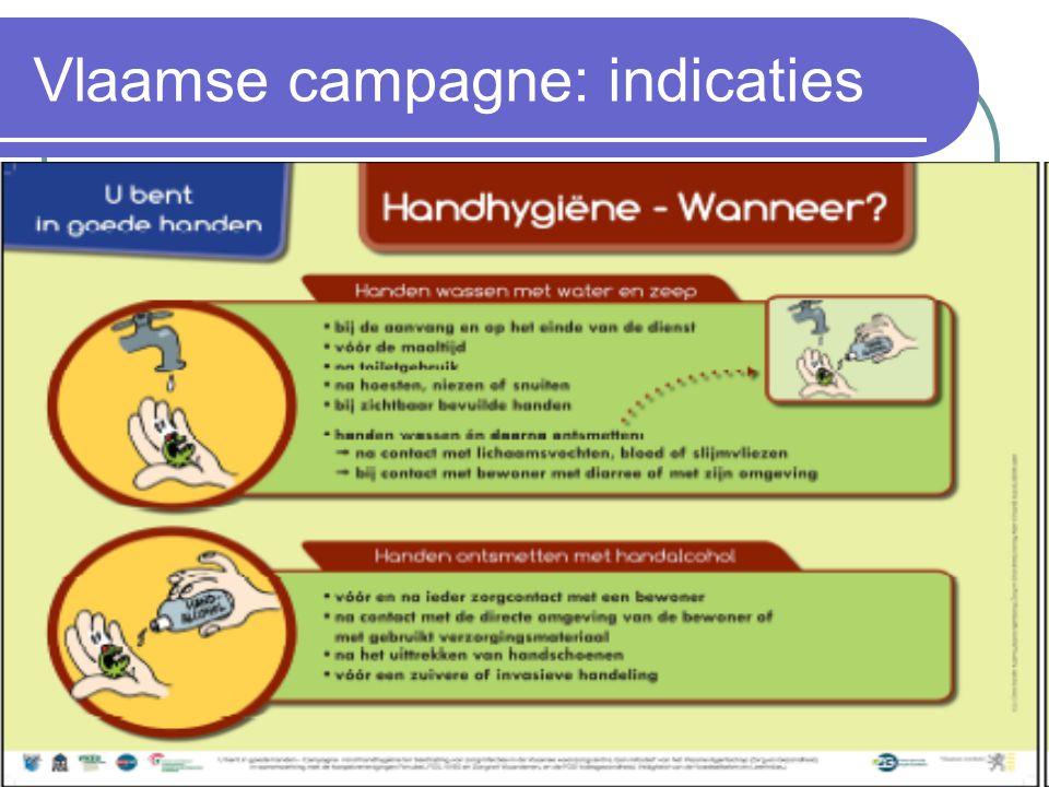 Vlaamse campagne: indicaties