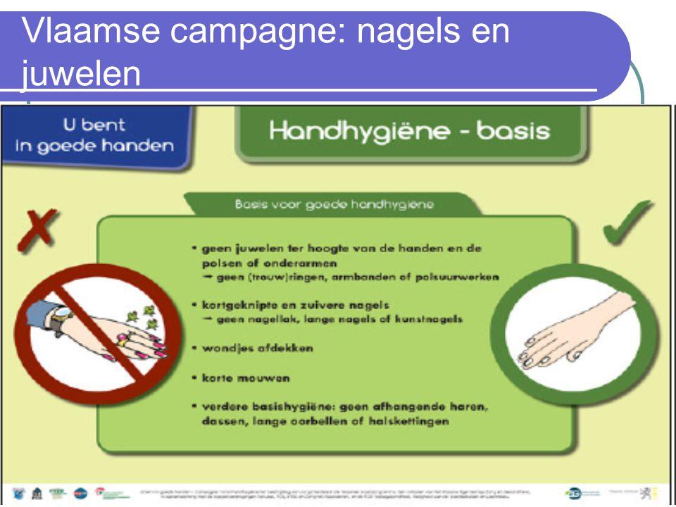 Vlaamse campagne: nagels en juwelen