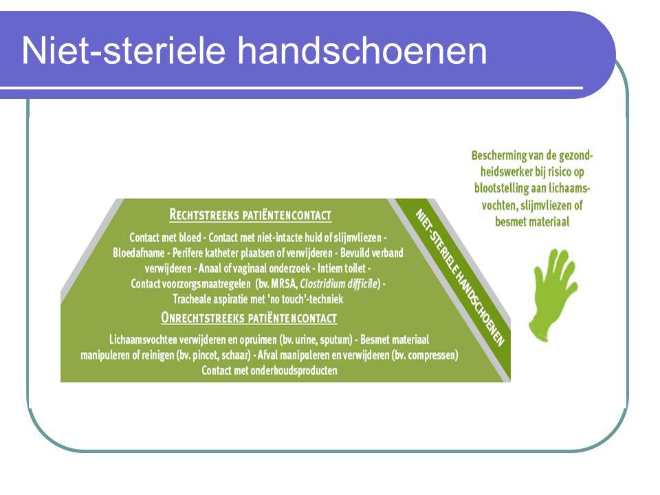 Niet-steriele handschoenen