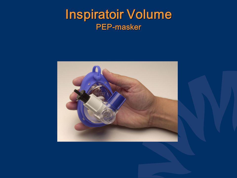 Inspiratoir Volume PEP-masker