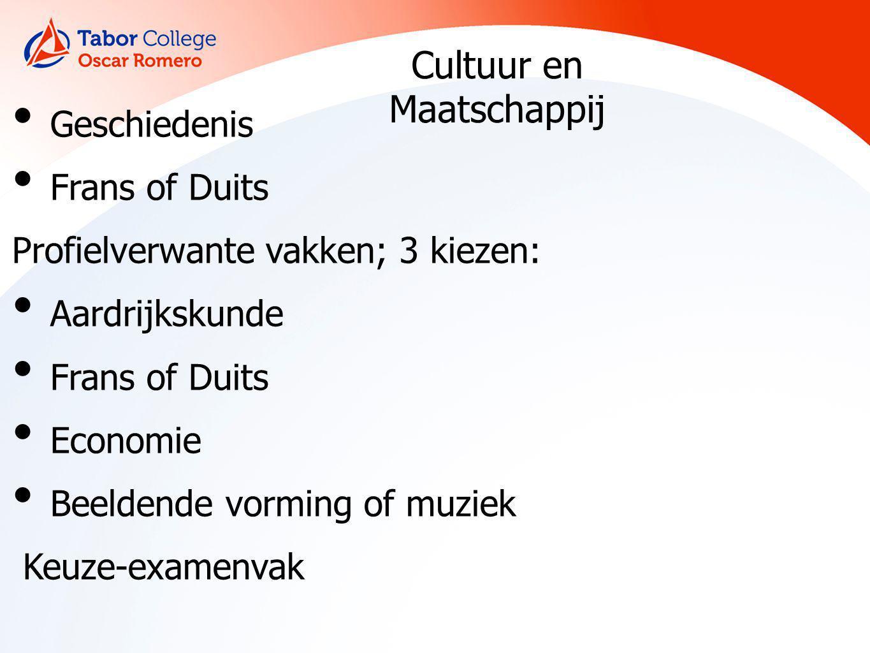 Cultuur en maatschappij onderwijs sociale sector sommige economische opleidingen toerisme communicatie kunst