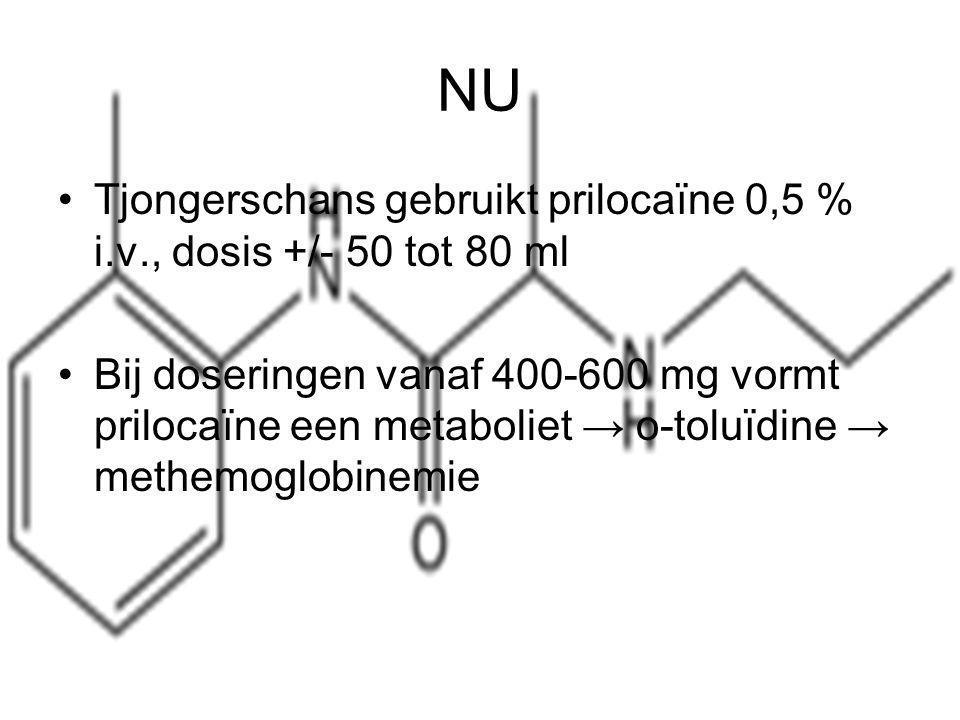 Methemoglobinemie: de aanwezigheid van geoxideerd en dus voor zuurstoftransport ongeschikt hemoglobine.