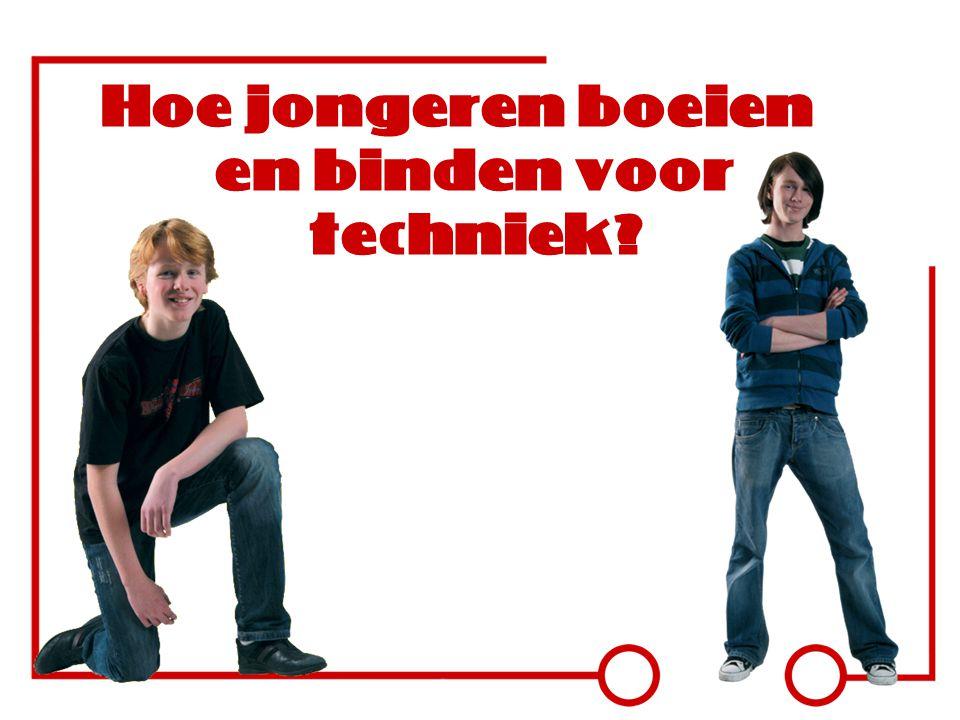 Hoe jongeren boeien en binden voor techniek?