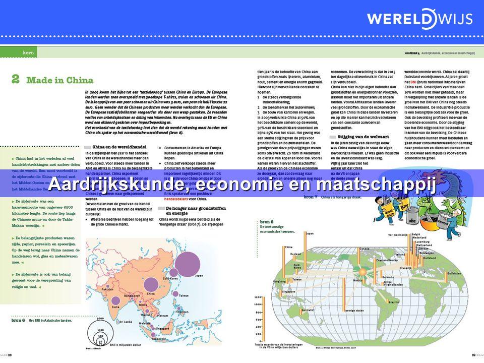 Aardrijkskunde, economie en maatschappij