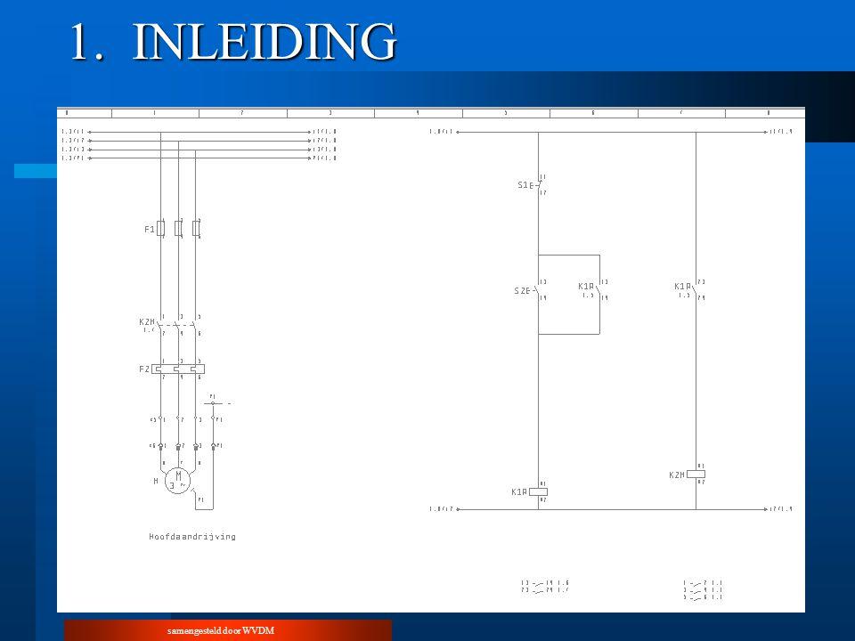 samengesteld door WVDM 3.9.Uittesten van een stuurkring –3.9.1.Installatie onder spanning