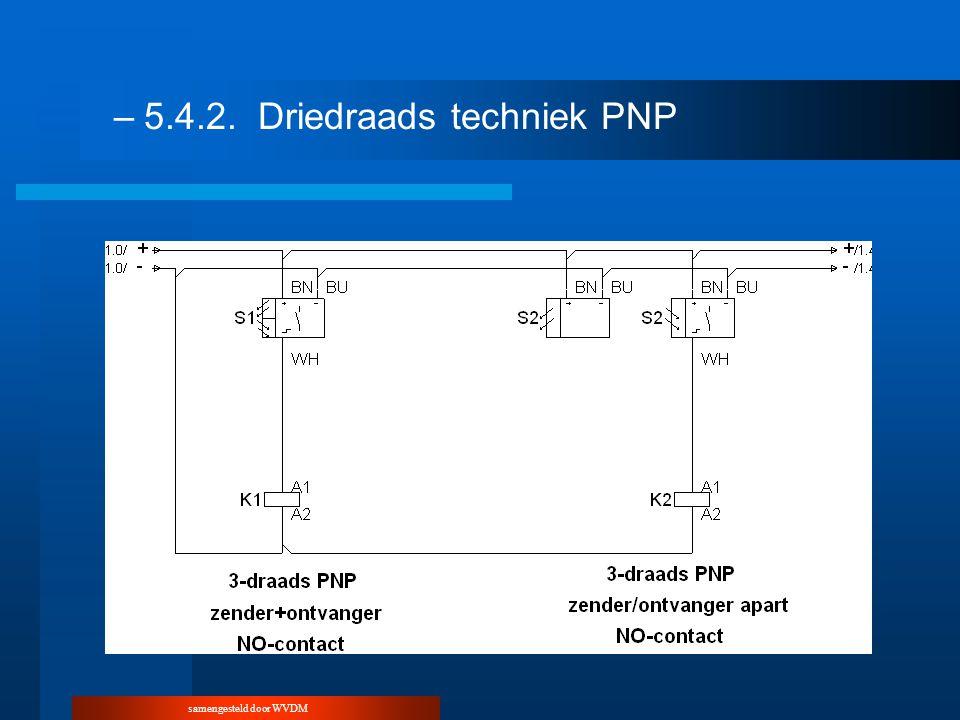 –5.4.2.Driedraads techniek PNP