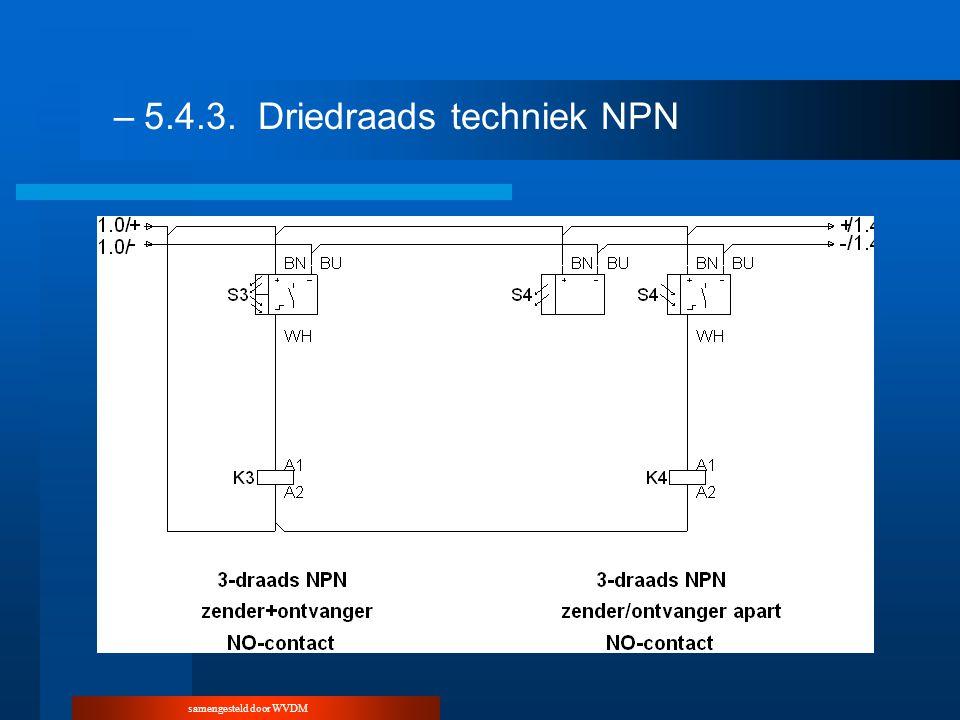 –5.4.3.Driedraads techniek NPN