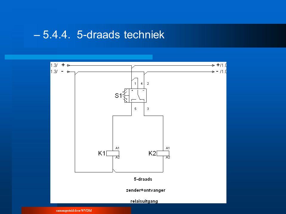 –5.4.4.5-draads techniek
