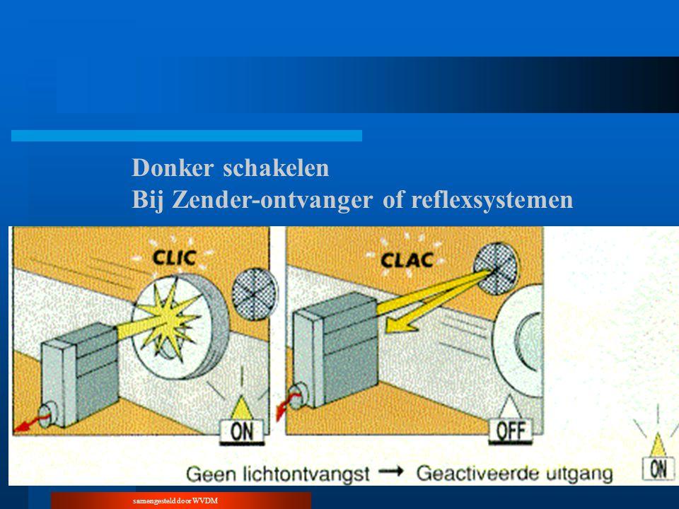 samengesteld door WVDM Donker schakelen Bij Zender-ontvanger of reflexsystemen