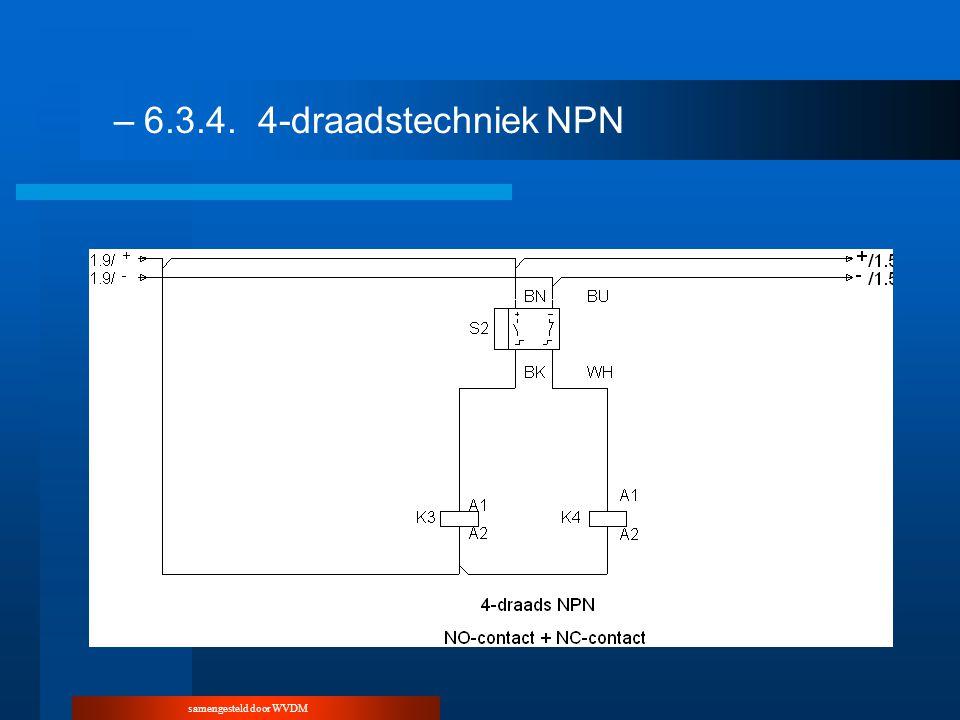 samengesteld door WVDM –6.3.4.4-draadstechniekNPN