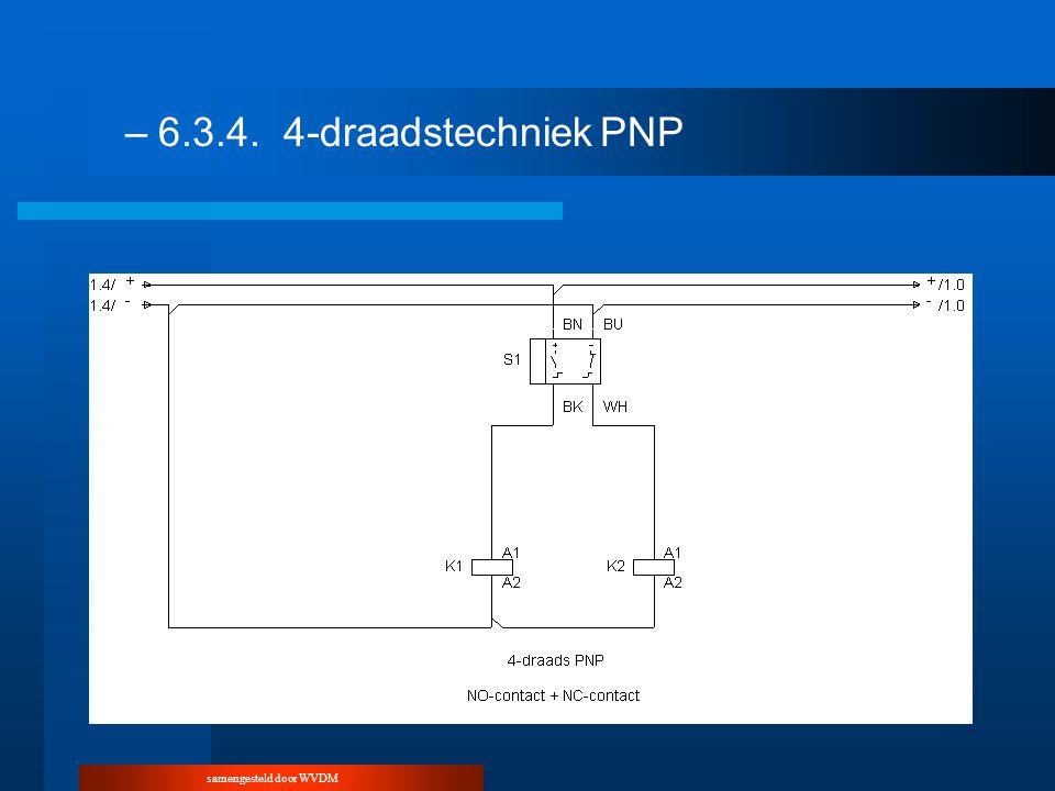 samengesteld door WVDM –6.3.4.4-draadstechniekPNP