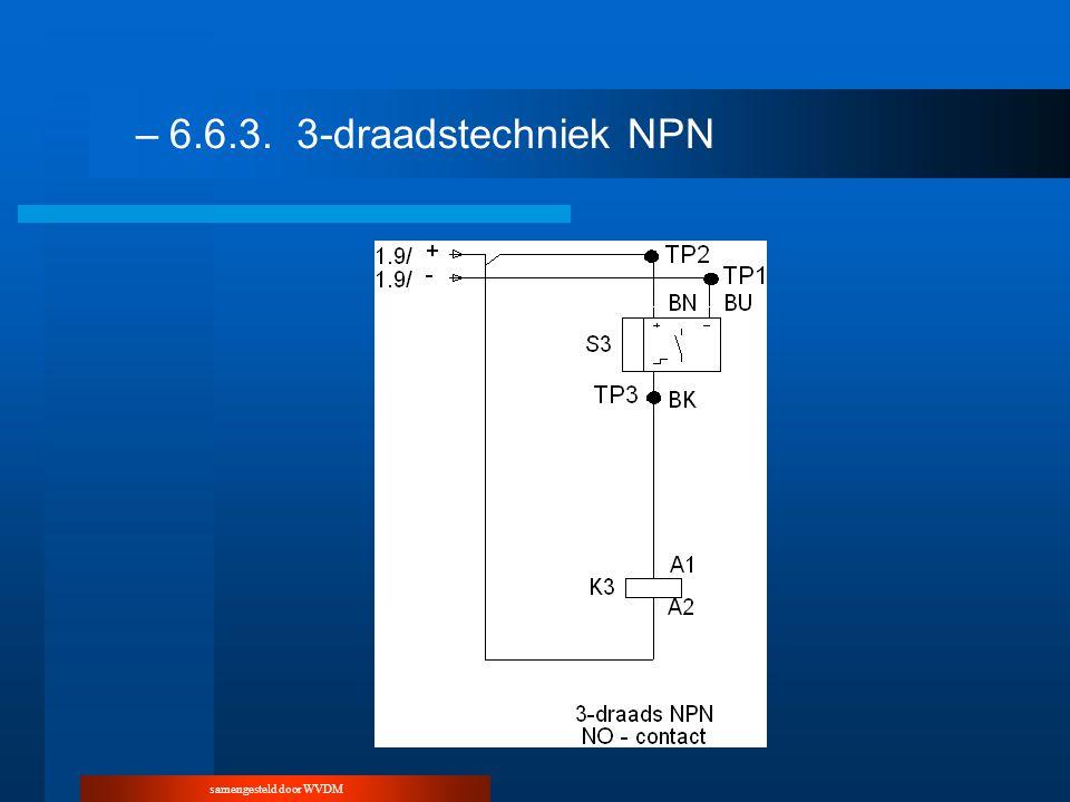 samengesteld door WVDM –6.6.3.3-draadstechniek NPN