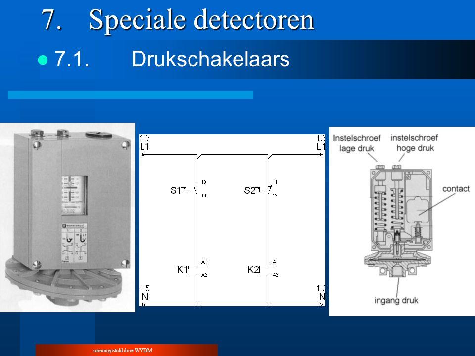 samengesteld door WVDM 7.Speciale detectoren 7.1.Drukschakelaars