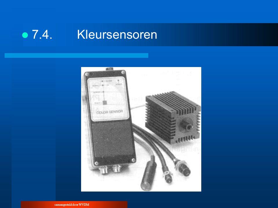 samengesteld door WVDM 7.4.Kleursensoren