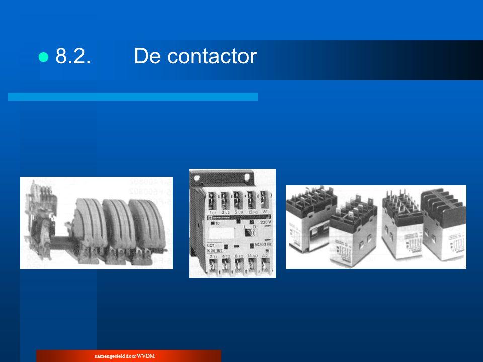 samengesteld door WVDM 8.2.De contactor