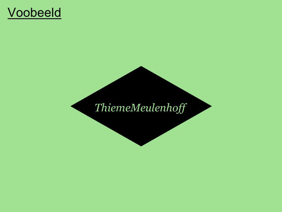 Voobeeld ThiemeMeulenhoff