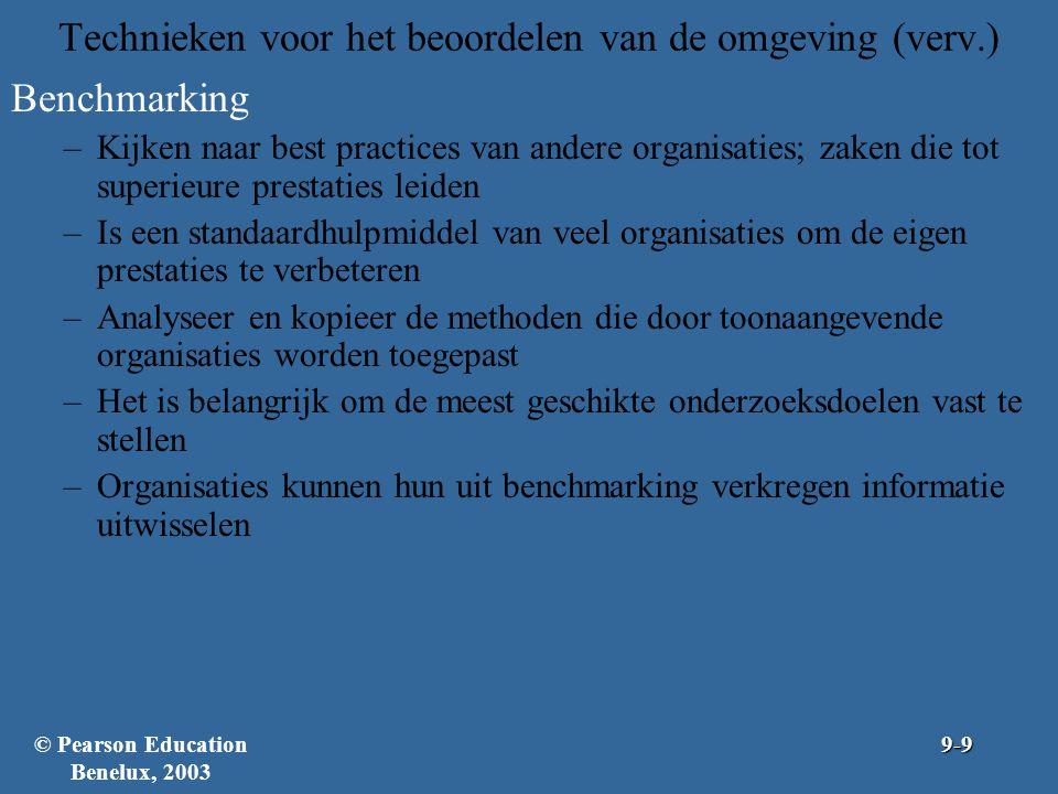 Figuur 9.8: Stappen voor de ontwikkeling van een PERT-netwerk © Pearson Education Benelux, 20039-20