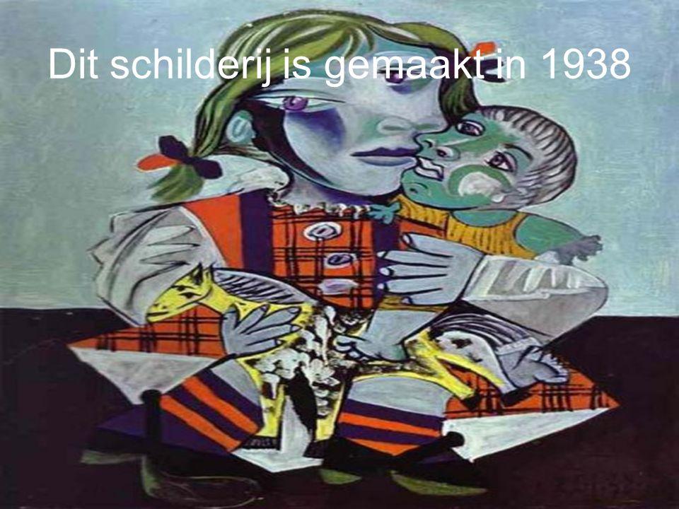 Dit schilderij is gemaakt in 1937