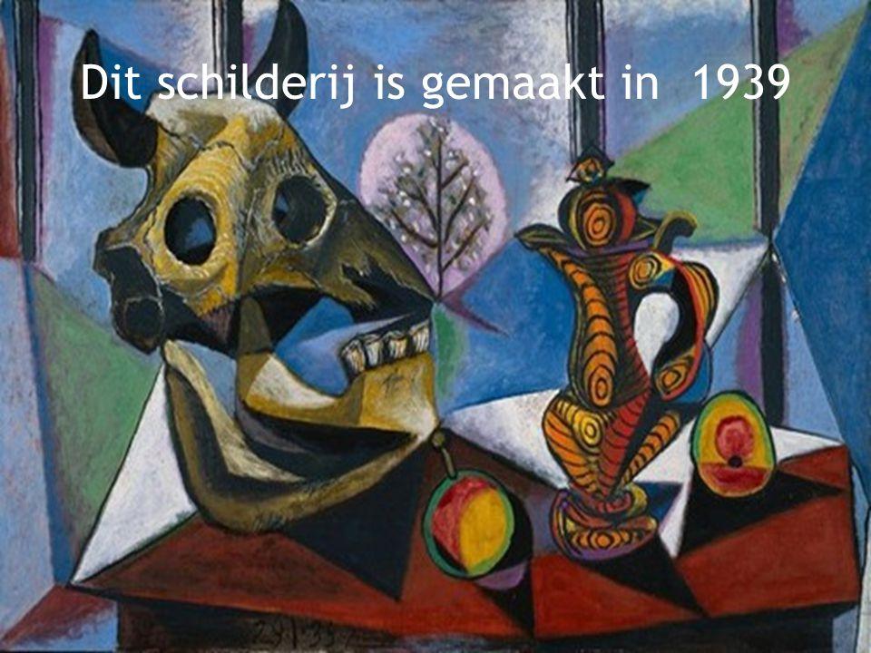 Dit schilderij is gemaakt in 1938