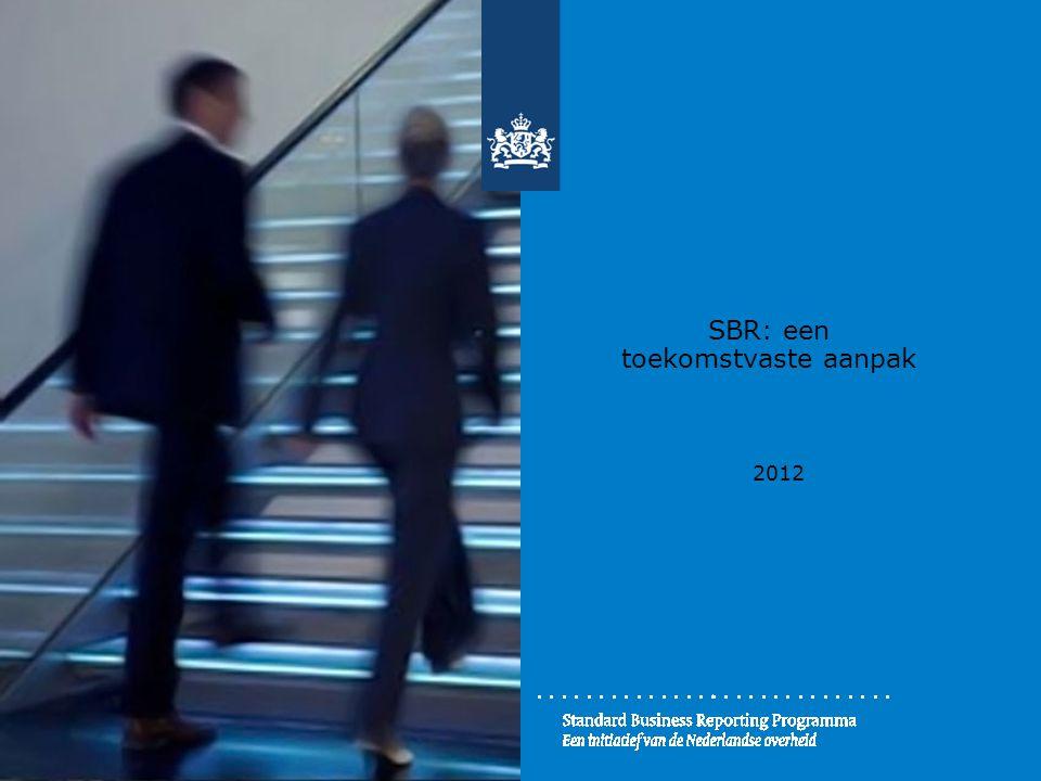 SBR: een toekomstvaste aanpak 2012