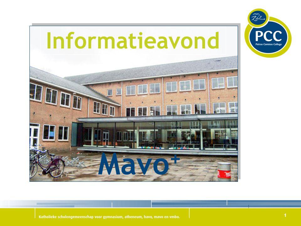 1 Mavo + Informatieavond