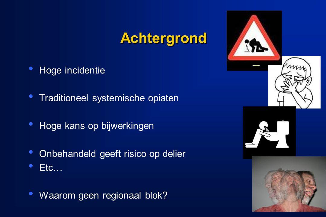 Dolan J.et al. Regional Anesthesia and Pain Medicine, 2008.