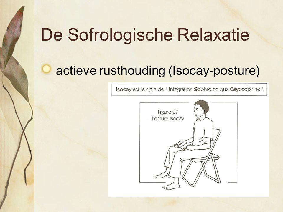 De Sofrologische Relaxatie actieve rusthouding (Isocay-posture)