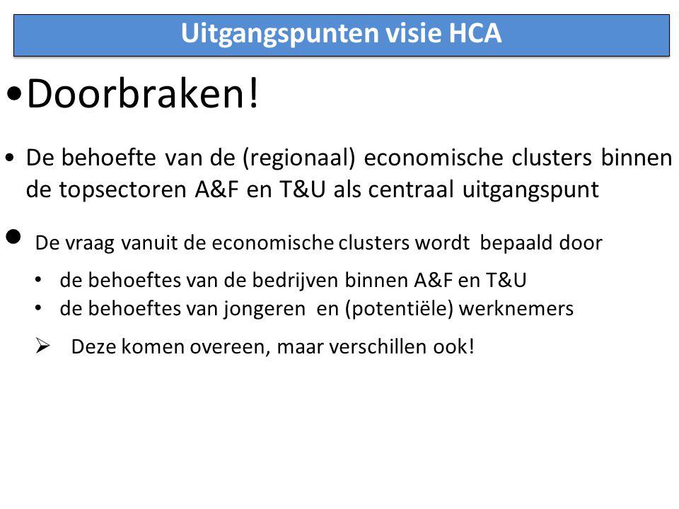 Uitgangspunten visie HCA Doorbraken.