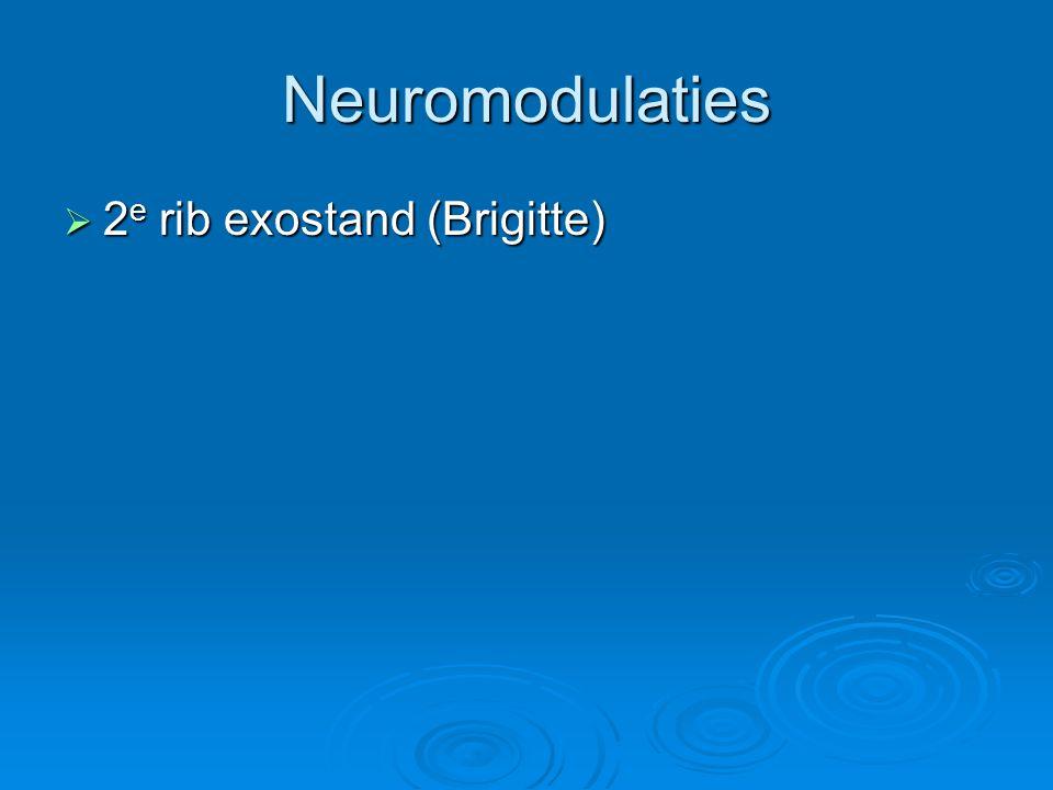 Neuromodulaties  2 e rib exostand (Brigitte)
