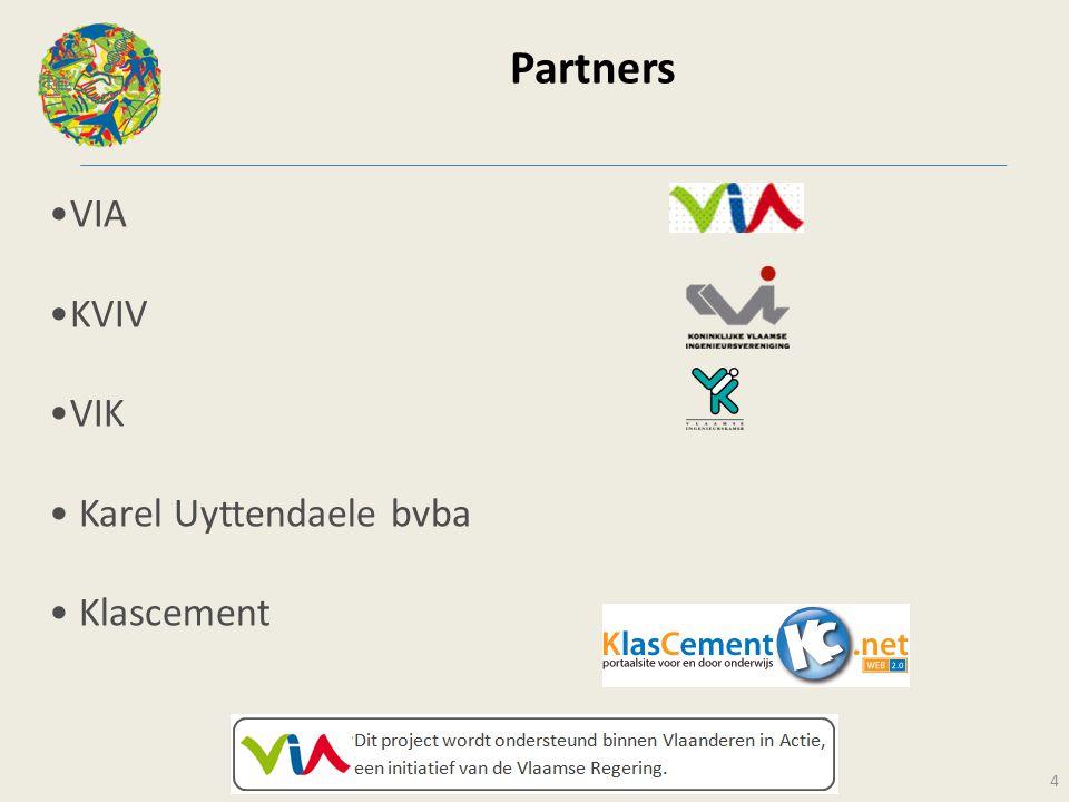 Partners VIA KVIV VIK Karel Uyttendaele bvba Klascement 4