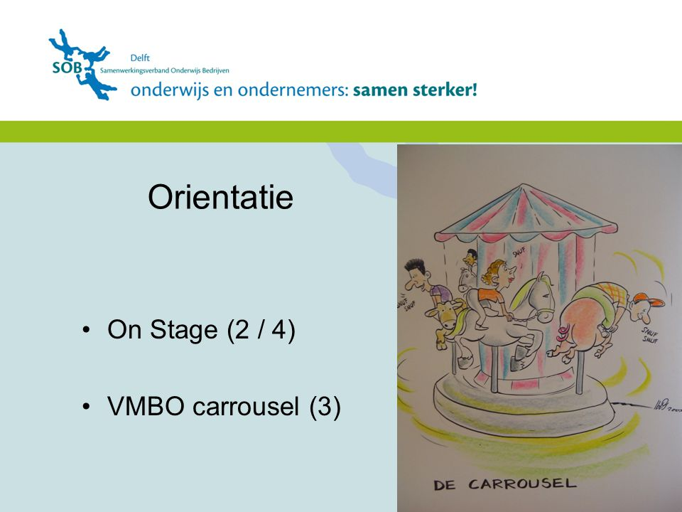 Orientatie On Stage (2 / 4) VMBO carrousel (3)