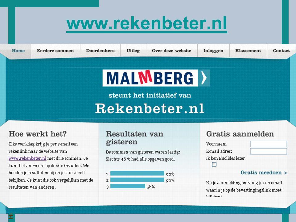 HoT www.rekenbeter.nl