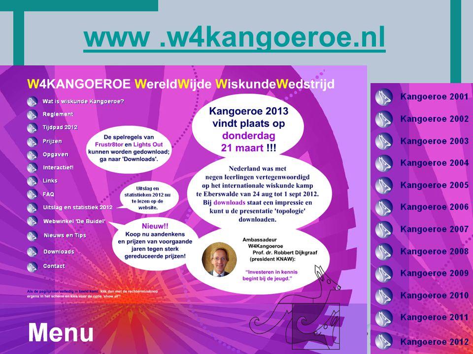 HoT www.w4kangoeroe.nl