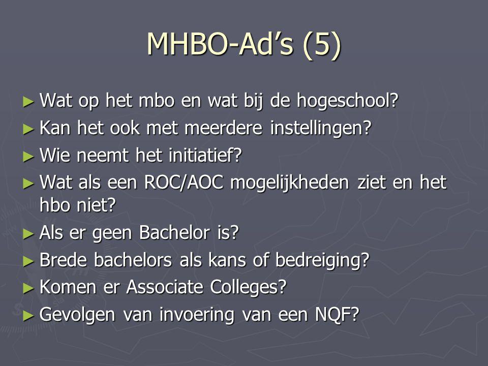 MHBO-Ad's (5) ► Wat op het mbo en wat bij de hogeschool.