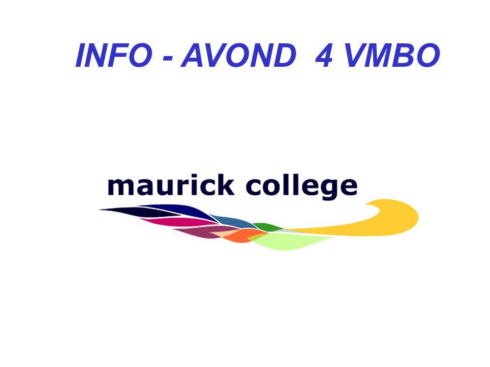 INFO - AVOND 4 VMBO