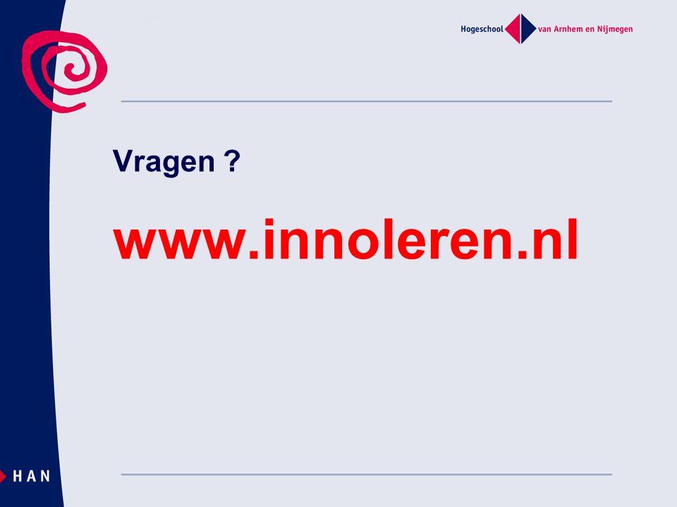 Vragen www.innoleren.nl