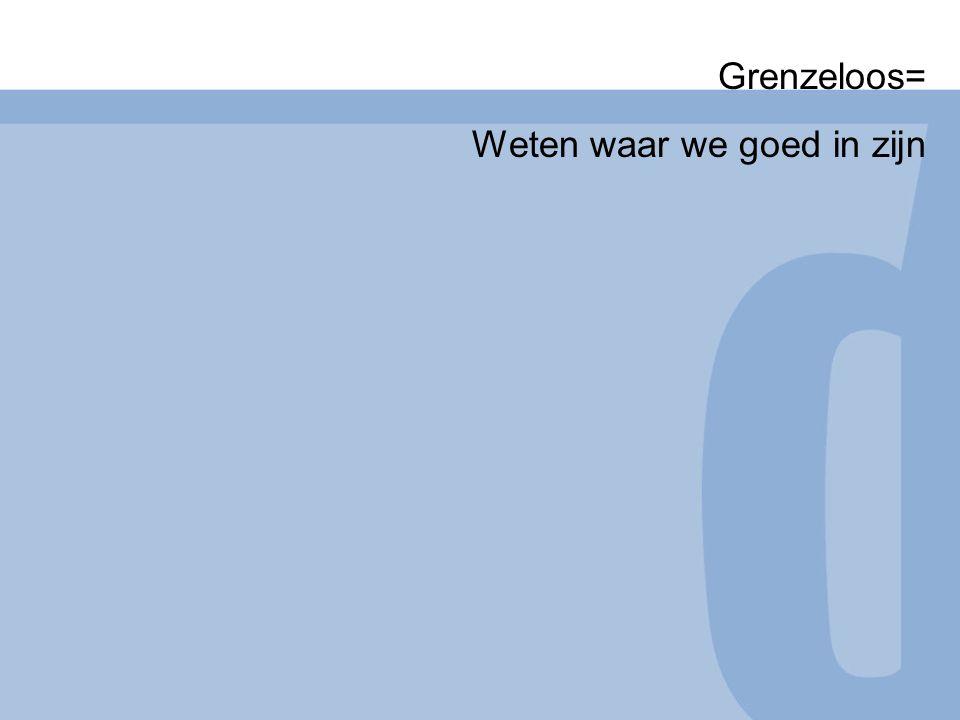 Weten waar we goed in zijn22 Waarom Nederland het beter doet.