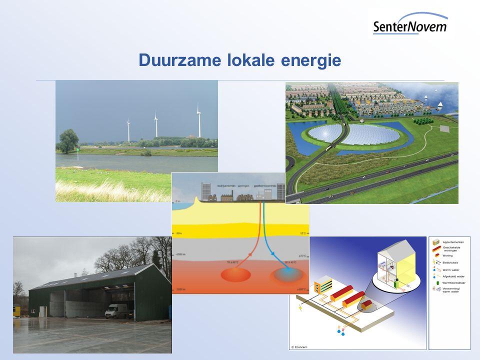 Duurzame lokale energie
